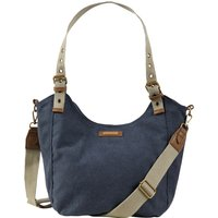 Weird Fish Burford Canvas Shoulder Bag Navy Size ONE