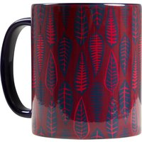 Weird Fish Leaves Mug Rich Red Size ONE
