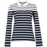 Weird Fish Muriel Rugby Shirt Navy Size 12