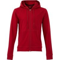 Weird Fish Pan Bamboo Full Zip Hoodie Rich Red Size L