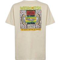 Weird Fish Haddock Collider Back Print Artist T-Shirt Oyster Size 5XL