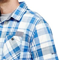 Weird Fish Ebro Short Sleeve Check Shirt Primary Blue Size L