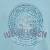 Weird Fish Rickshaw Tuk Print Boy's T-Shirt Washed Teal Size 11-12
