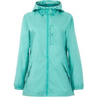 Weird Fish Teramo Showerproof Jacket Light Teal Size 10
