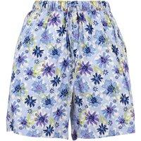Weird Fish Sundance Printed Beach Shorts Lilac Hint Size 16