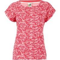 Weird Fish Paw Paw Organic Cotton Printed Jersey T-Shirt Tea Rose Size 16