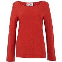 Weird Fish Eva Boat Neck T-Shirt Chilli Red Size 20