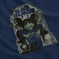 Weird Fish Black Salmon Artist T-Shirt Estate blue Size L