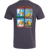 Weird Fish Weird Diet Organic Cotton Artist T-Shirt Raisin Size 4XL
