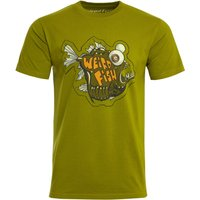 Weird Fish Deep Sea Organic Cotton Artist T-Shirt Woodbine Size 3XL