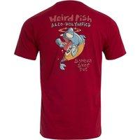 Weird Fish Sambuca Shot Organic Cotton Artist T-Shirt Chilli Pepper Size L