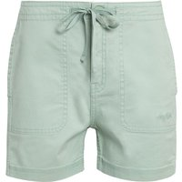 Weird Fish Willoughby Organic Cotton Shorts Pistachio Size 20