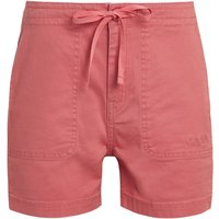 Weird Fish Willoughby Organic Cotton Shorts Tea Rose Size 12