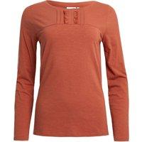 Weird Fish Carolina Organic Cotton Plain T-Shirt Rust Size 8
