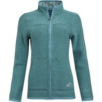 Weird Fish Sontee Full Zip Eco Macaroni Washed Teal Size 18