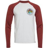 Weird Fish Welton Eco Raglan T-Shirt Dusty White Size 3XL
