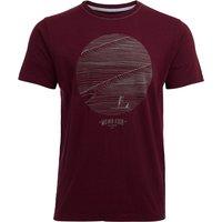 Weird Fish High Tide Organic Cotton Graphic High T-Shirt Tall Antique Cherry Size 5XLT