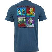 Weird Fish Tarentuna Organic Cotton Artist T-Shirt Blue Mirage Size 3XL