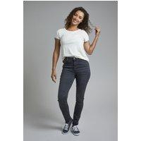 Weird Fish Rini Organic Slim Fit Denim Jeans Grey Wash Size 18 L