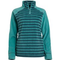 Weird Fish Litchi Recycled Fleece Washed Teal Size 18