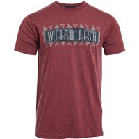 Weird Fish Mackie Eco Branded Graphic T-Shirt Antique Cherry Size 2XL