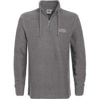 Weird Fish Cruiser 1/4 Zip Classic Macaroni Sweatshirt Frost Grey Size 3XL