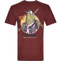 Weird Fish Lock Stock Printed Artist T-Shirt Conker Size S