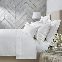 Adeline Duvet Cover, White, Super King