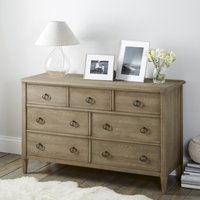 Ardleigh Wide Chest of Drawers, Smoke, One Size