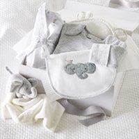 Animal Baby Luxury Gift Set, White, 0-3mths
