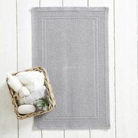 Antibes Bath Mat, Storm Grey, Medium