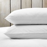 Avignon Classic Pillowcase - Single, White, Super King