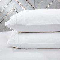 Adeline Classic Pillowcase - Single, White, Standard