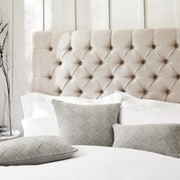Albourne Cushion Covers, Silver, Medium Square