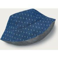 Anchor Hat, Blue, 0-6mths