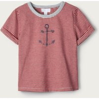 Anchor T-Shirt (1-6yrs), Red Stripe, 4-5yrs