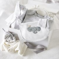 Animal Baby Luxury Gift Set, White, 0-3mths