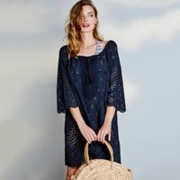 Cotton Broderie Cover Up