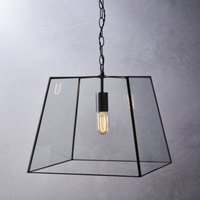 Brooklyn Large Pendant Light, Bronze, One Size
