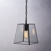 Brooklyn Small Pendant Light, Bronze, One Size