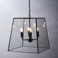 Brooklyn Extra Large Pendant Light, Bronze, One Size