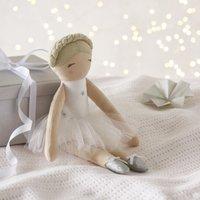 Ballerina Soft Toy, White, One Size