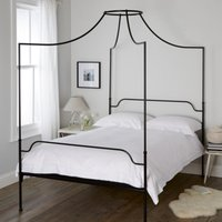 Beaumont Bed, Black, Double