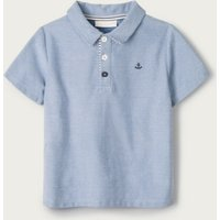 Blue Anchor Polo Top (1-6yrs), Blue, 4-5yrs