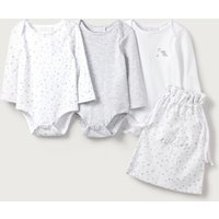Bodysuit Baby Gift Set - Set of 3, White, Newborn