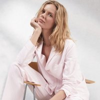 Brushed Cotton Pink Stripe Pyjama Set, Pink Stripe, Extra Small