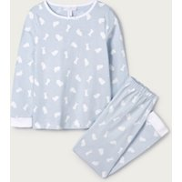 Bunny Pyjamas (1-12yrs), Blue, 3-4yrs