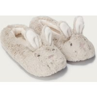 Bunny Slippers, Mink, 12/13