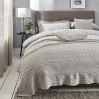 Burlington Throw, Silver, One Size