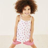 Strawberry Print Pyjama Set (1-12yrs)
